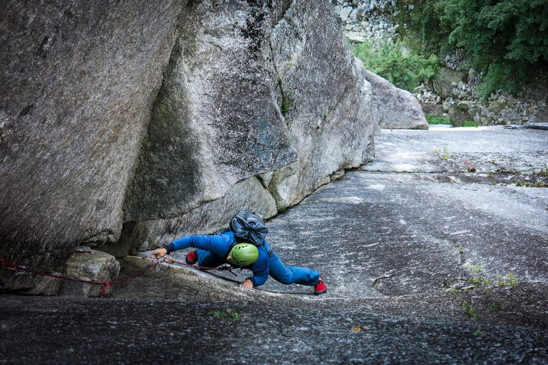 Good climb. <br> <br> Photo by grahammcdowellresearch.com