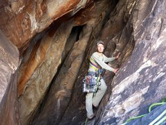 Rock Climbing Photo: Tunnel Vision pitch 5.