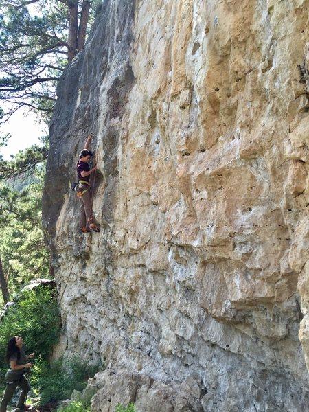 Rock Climbing Photo: Goats Milk last summer