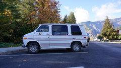 Our Van in Leavenworth <br />