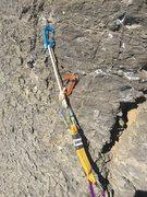 Rock Climbing Photo: A lot of the seams are horizontal
