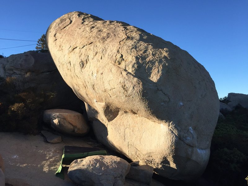 Rock Climbing Photo: 'Nightmare on Elm Street' boulder