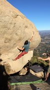 Rock Climbing Photo: 'Brooke's Shield'