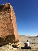 Rock Climbing Photo: Sitting at the base