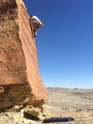 Rock Climbing Photo: High on the slab