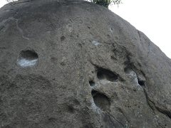 Rock Climbing Photo: 'Moon as my Witness'