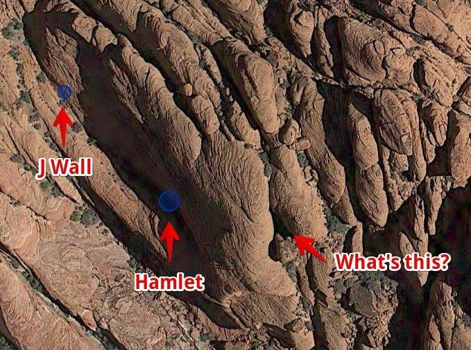 Rock Climbing Photo: Mystery Wall