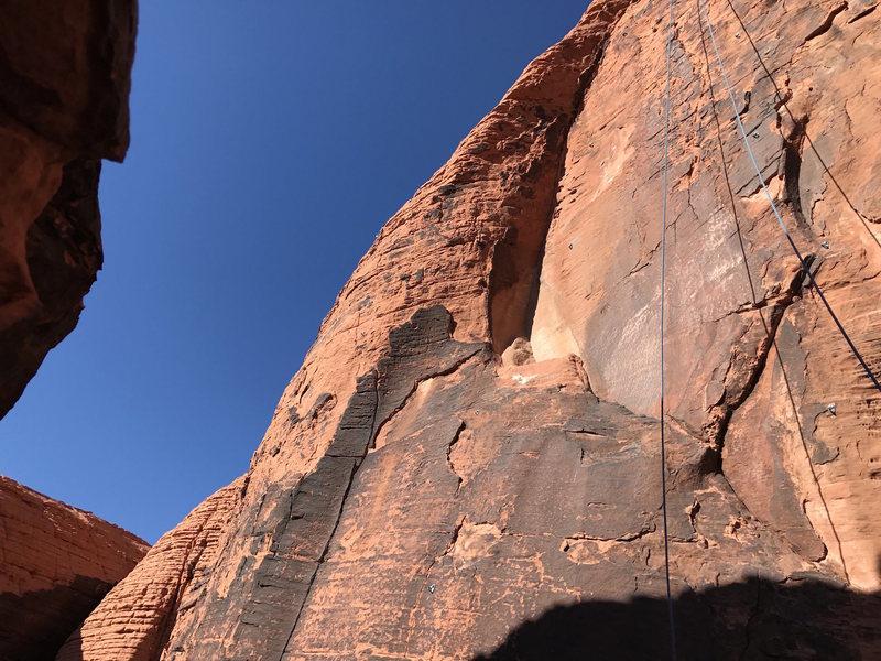 Rock Climbing Photo: Mystery Wall Close-up