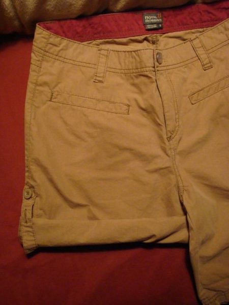 RR roll up shorts