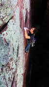 Rock Climbing Photo: Max Tepfer on Flake Route