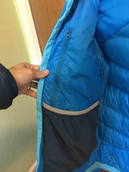 inner chest pocket
