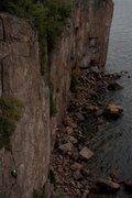 Rock Climbing Photo: Pallisade