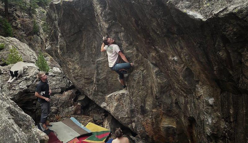 Rock Climbing Photo: The Darkside.