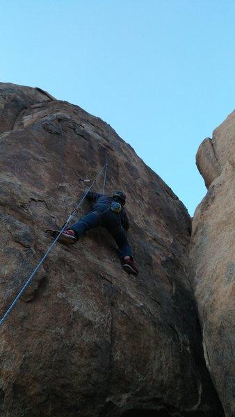 Rock Climbing Photo: Silly Girl