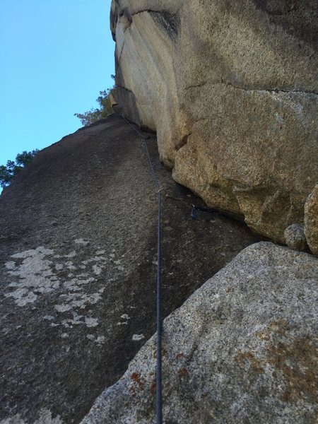 Rock Climbing Photo: The last pitch is surprisingly good! Super fun wit...