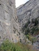 Rock Climbing Photo: Jon Colbert nearing the chains.