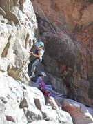 Rock Climbing Photo: Great kid route.
