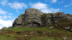Rock Climbing Photo: Low Man as seen on the approach from the car park....