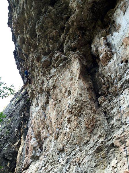 Rock Climbing Photo: 'Bucket Head' 12b