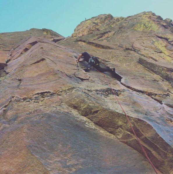 Eldorado Canyon classics - Slator Aplin
