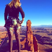 Rock Climbing Photo: Washer Woman w/Jackson Marvell