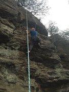 Rock Climbing Photo: Top roping