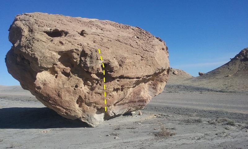 Rock Climbing Photo: Blues Man