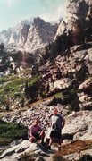 Rock Climbing Photo: Garnet Canyon