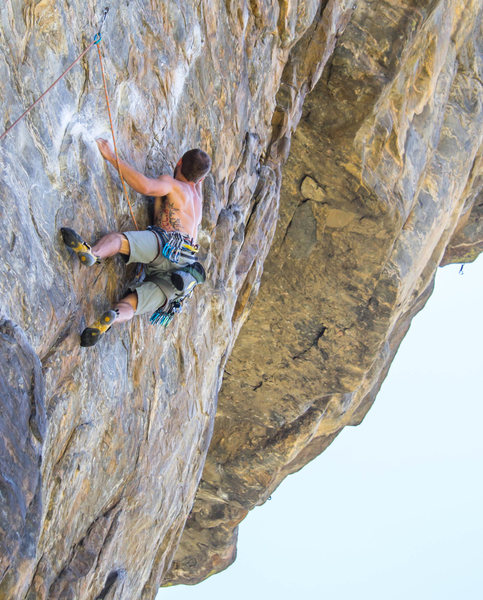Rock Climbing Photo: Well-protected with a brief crux.