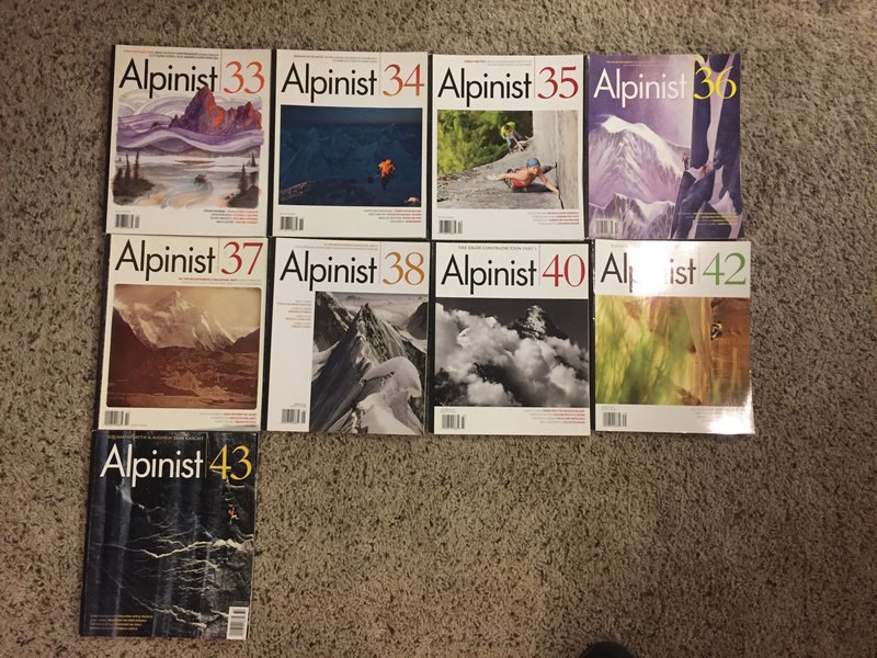 Alpinist Issues