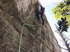 Rock Climbing Photo: jug route