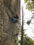 Rock Climbing Photo: danna on jug route