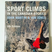 John Martin and Jon Jones just updated their guide, Sport Climbs in the Canadian Rockies, with a 7th edition. It's now in full color, although most routes are shown only in topo map since getting decent photos in the close valleys is tricky. It also gives guidance for starting routes in the aftermath of the 2013 flooding.