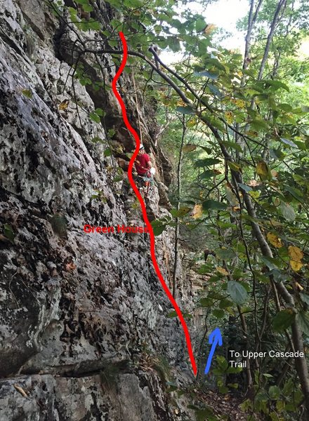 Rock Climbing Photo: Joey rapping after the probable first ascent of Gr...