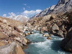 Rock Climbing Photo: Chota dara river