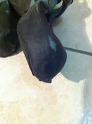 Rock Climbing Photo: Futura toe/inside edge - left foot