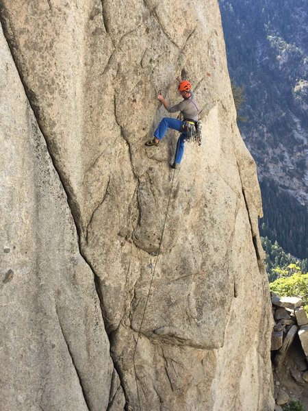 Rock Climbing Photo: Rob Trauscht getting after it.