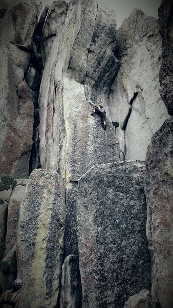 Rock Climbing Photo: Spoooookyyyy