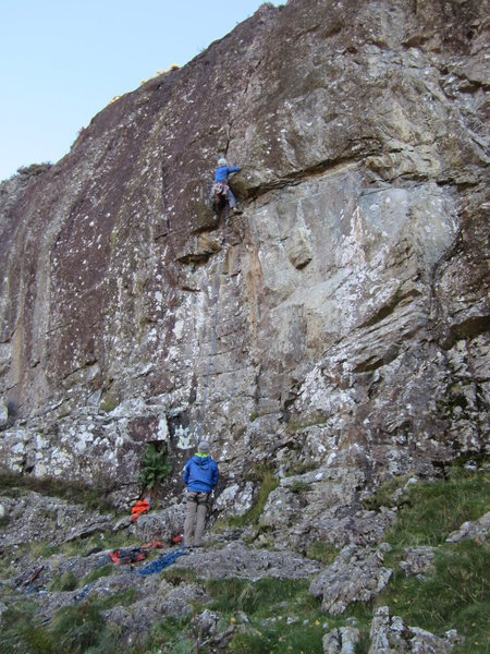 Rock Climbing Photo: Rack Direct 5.10c