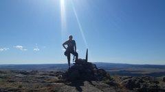 Rock Climbing Photo: Devils Tower summit