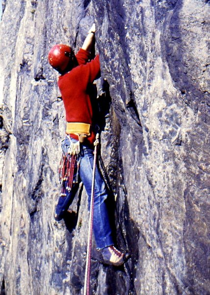 Rock Climbing Photo: Brant, Clogwyn y Grochan, Llanberis 1970