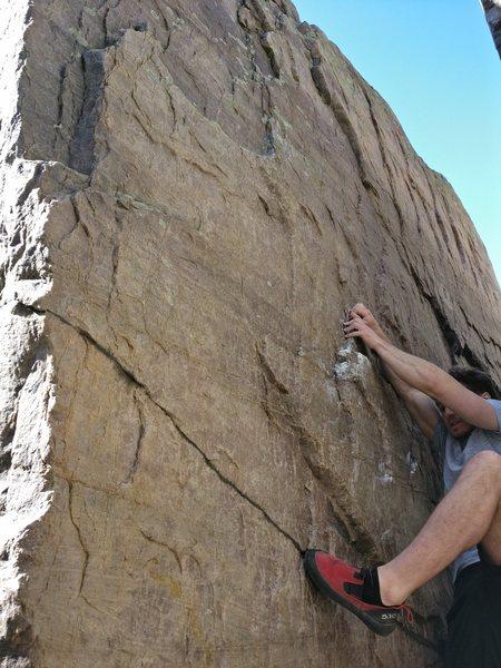 Rock Climbing Photo: At the start.