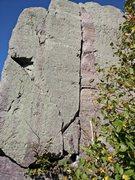 Rock Climbing Photo: Fat crack.