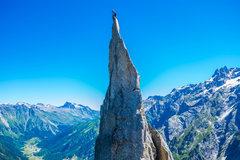 Rock Climbing Photo: Fiamma summit on a bluebird day in July. Photo by ...