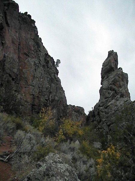 Entrance Pinnacle