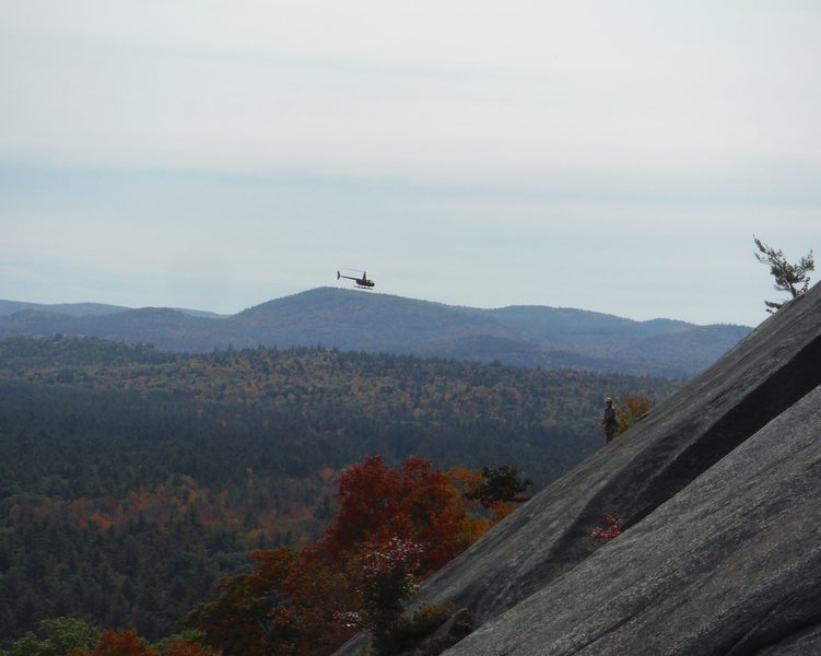 Rock Climbing Photo: HELO and Unknown leader at the Interloper/Sliding ...