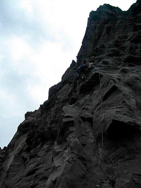 Rock Climbing Photo: Frogger