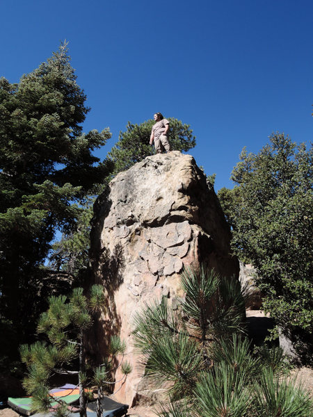 Rock Climbing Photo: Kyle after finding out that the plates are peerles...