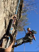 Rock Climbing Photo: Loaded down