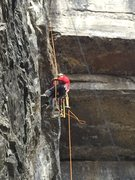 Rock Climbing Photo: loaded down even more...